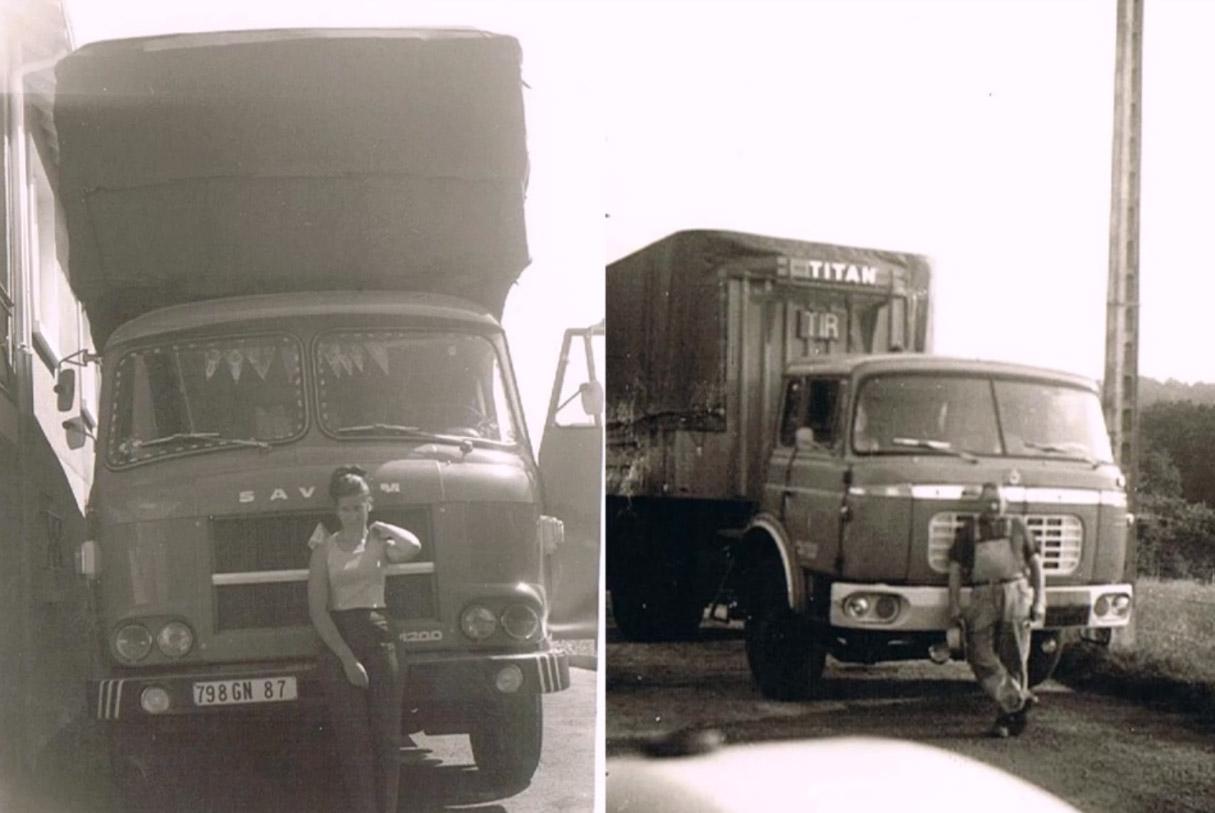 Vieux camions Roulaud, transport routier depuis 1951