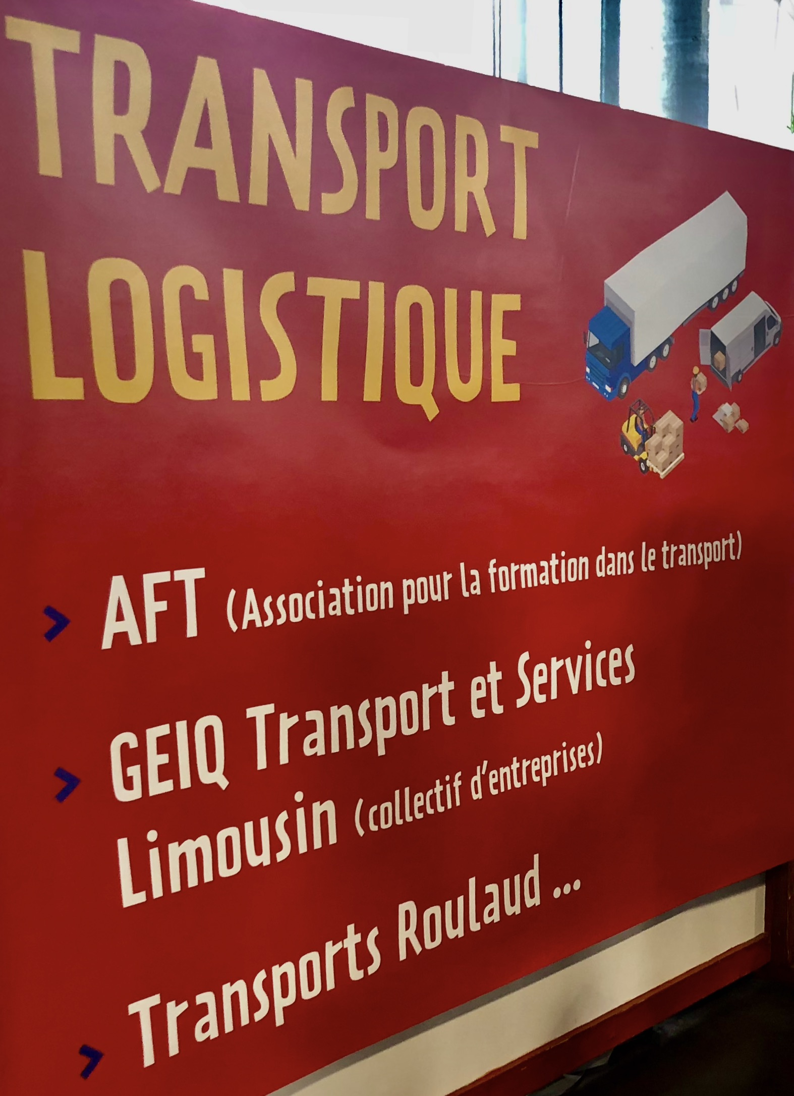 professionnel transport logistique